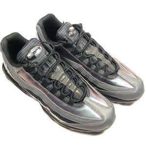 Nike Air Max 95 LV8 Blk/Amber Glow Drk Grey Sz 12